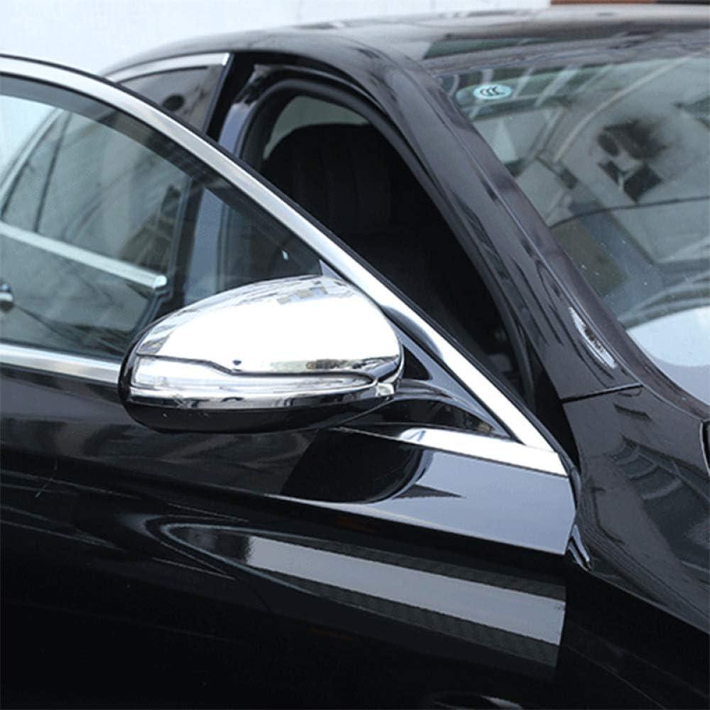 F/ür Mercedes Benz C Klasse W205 Glc Neue E Klasse Piaobaige Auto R/ückspiegel Kappe Abdeckungen Abs R/ückspiegel Dekoration Shell Aufkleber Fit