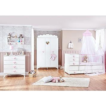 mitwachsendes babyzimmer little princess mit kleiderschrank kommode babybett