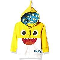 Pinkfong Baby Shark - Sudadera con Capucha y Cierre para bebé, diseño de tiburón, Color Amarillo Sudadera con Capucha…