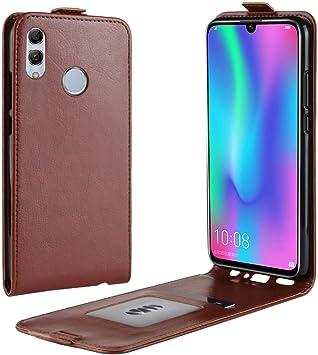 95Street Funda para Huawei P Smart 2019 Carcasa con Soporte Plegable, Carcasa para Huawei P Smart 2019 con Ranuras para Tarjetas y Billetes, Broche Magnético, Cubierta de Material de Cuero: Amazon.es: Electrónica