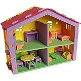 Sprogs SPG-ATN1058-SO Doll House EVA Foam Puzzle, Grade: Kindergarten to 1