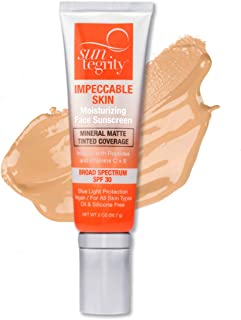 product image for Suntegrity Impeccable Skin - Tinted Sunscreen, Broad Spectrum SPF 30 (Sand) - 2 oz