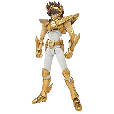 Bandai Tamashii Nations Saint Cloth Legend EX Pegasus Seiya (New Bronze Cloth) - Masami Kurumada 40th Anniversary Edition Saint Seiya Action Figure: Toys & Games