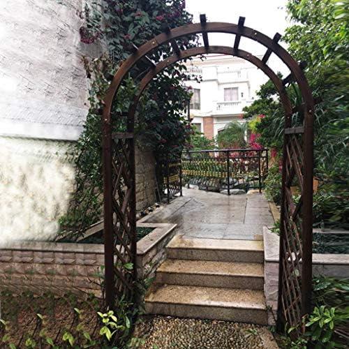 XLOO Cenador de Arco de jardín de Madera a Prueba de Agua, Arco de ...