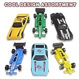 ArtCreativity 25 Pc Diecast Toy Car Set, Durable