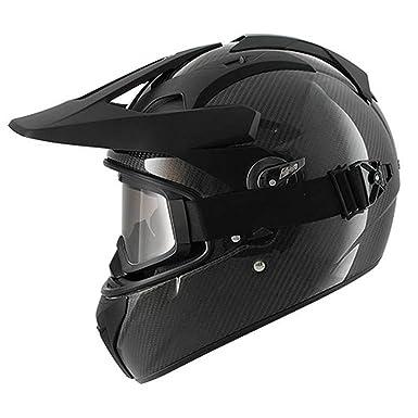 Amazon.es: Shark explore-r Carbon moto moto nuevo rostro Plein de casco con visera