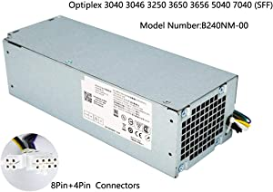 ANPBAORE 240W Power Supply for Dell Optiplex 3040 3046 3250 3650 3656 5040 7040(SFF) H240EM-00 B240NM-00 AC240EM-00 L240AM-00 HU240AM-00,P/N: THRJK 4GTN5 4R1KT D7GX8 H62JR 3RK5T 6WX7D 0M1C3 J1J7