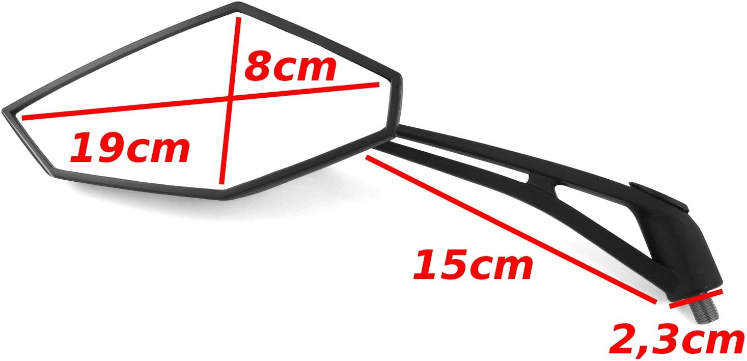 125 V39 2//piaggio tph miroir R/étroviseur miroir set piaggio Zip 50 AMZ X