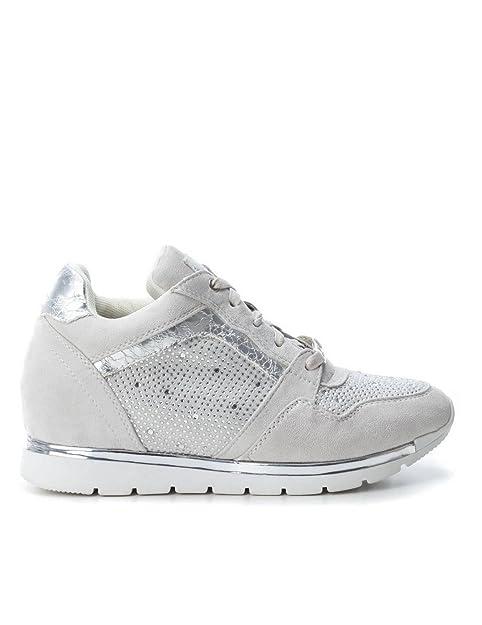 ecd1f685 Deportivo Xti Mujer 47584 Plata 35 Gris: Amazon.es: Zapatos y complementos