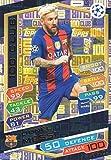 2016/17 MATCH ATTAX CHAMPIONS LEAGUE 100 CLUB LIONEL MESSI FC.BARCELONA HUNDRED CLUB