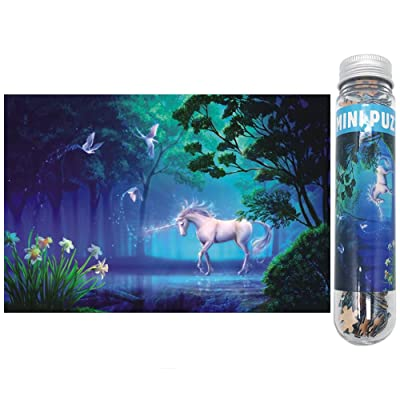 Small Jigsaw Puzzles for Adults and Kids 150 Pieces Mini Unicorn Jigsaw Puzzles 6 x 4 Inches: Toys & Games