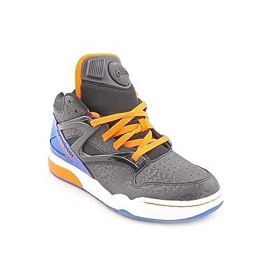 97b851419006 Reebok Pump Omni Lite Youth Boys Black Basketball Shoes Size UK 3   Amazon.co.uk  Shoes   Bags