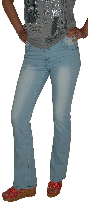 Damen Marken Jeans Gr.42 104 Stretch Bootcut Jeanshose used