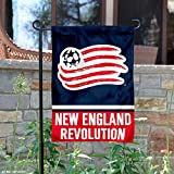 WinCraft New England Revolution Double Sided Garden Flag
