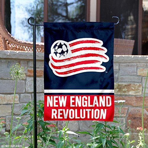 WinCraft New England Revolution Double Sided Garden Flag by WinCraft