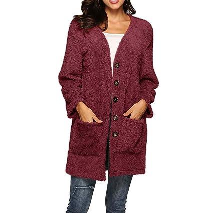 HhGold Abrigo de Mujer Chaqueta de Abrigo Chaqueta de Parka Prendas de Abrigo Casual Chaqueta Casual