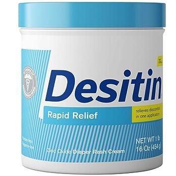 DESITIN Rapid Relief Diaper Rash Cream 16 oz