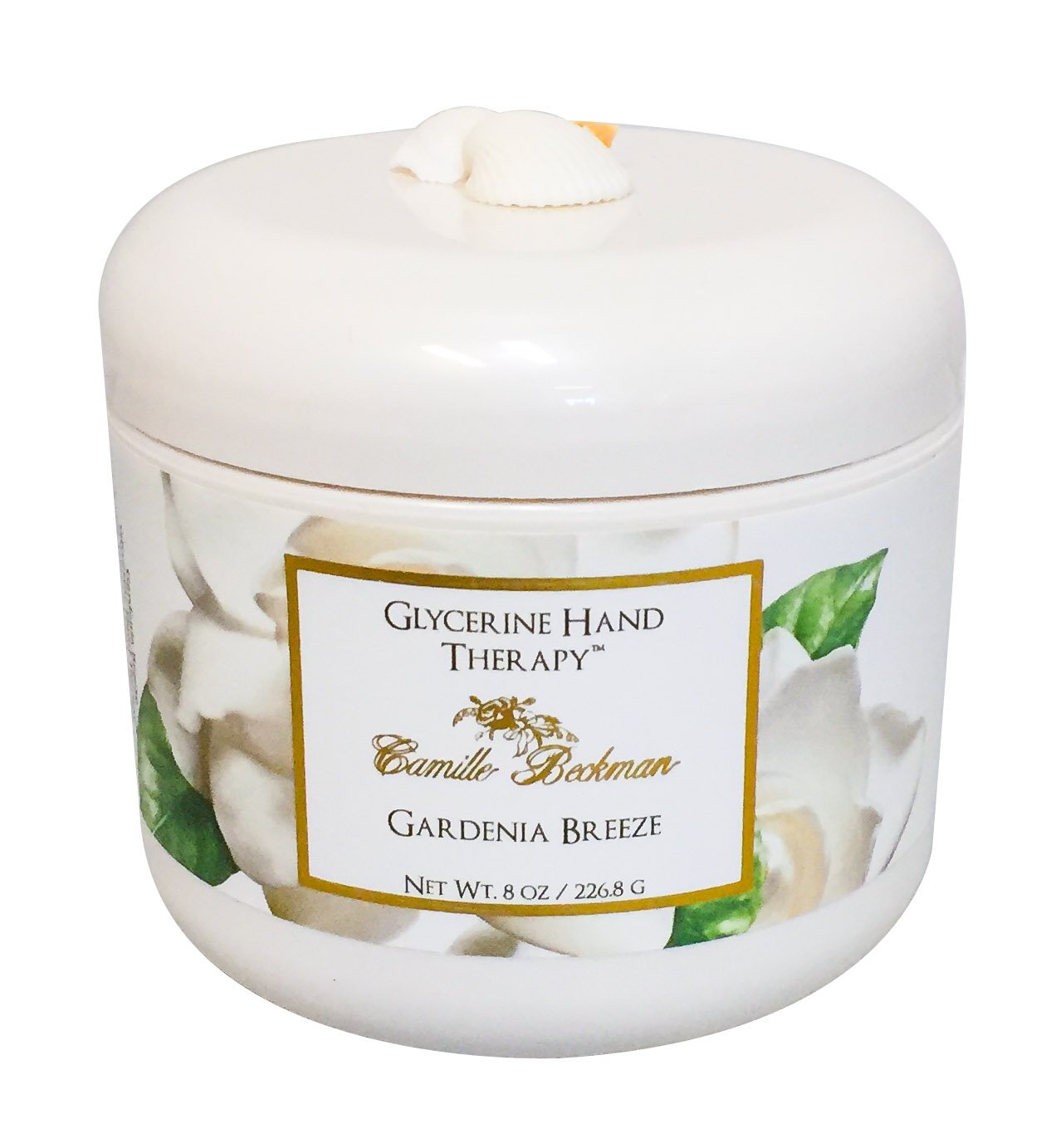 Camille Beckman Glycerine Hand Therapy, Gardenia Breeze, 8 Ounce