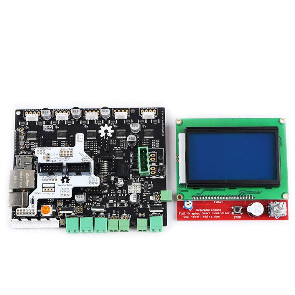 MongKok Smoothieboard 5X V1.1 - Placa Base con Pantalla LCD 12864 ...