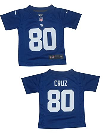 online retailer eae28 aa080 Amazon.com: NFL New York Giants Cruz #80 Toddler Athletic ...