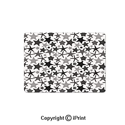 f5e49858aba Thick 3mm Gaming Mouse Pad Monochromatic Starfish Pattern Exotic Aquarium  Fauna Underwater Wildlife Decorative Personality Design