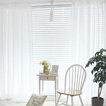GUOCAIRONG® Tulle Vorhänge Schlafzimmer Translucidus Modern Home Fenster  Dekoration Weiß Sheer Voile Vorhänge Für Wohnzimmer