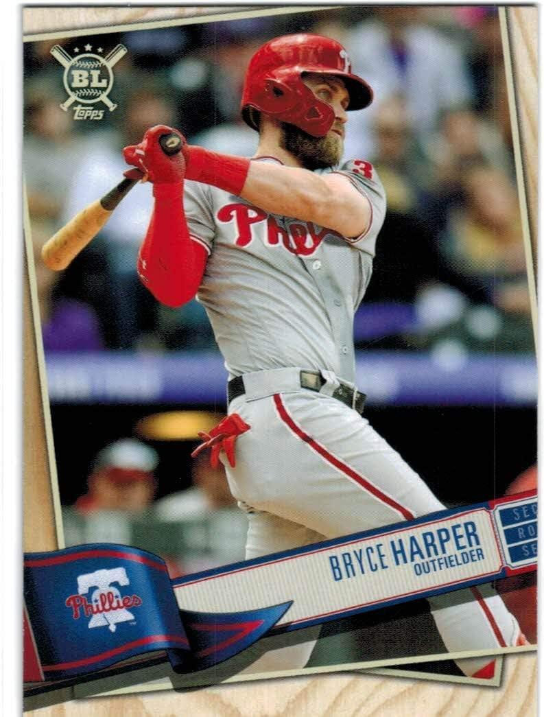 PHILLIES 2019 TOPPS National Baseball Card Day Harper//Hoskins//Nola//Realmuto SG