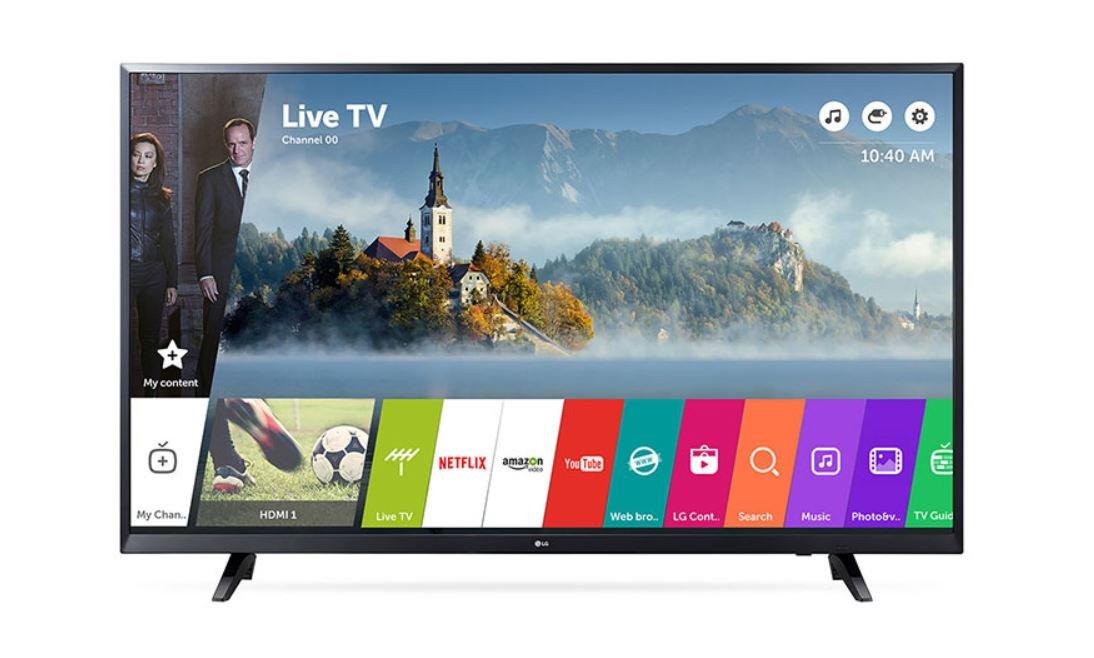 LG TV LED 55UJ620-55'/139CM - UHD 4K 3840X2160 IPS - 1500HZ PMI - HDR10/HDR-HLG - DVB-T2 UHD - Smart TV - Audio 20W - WiFi - B