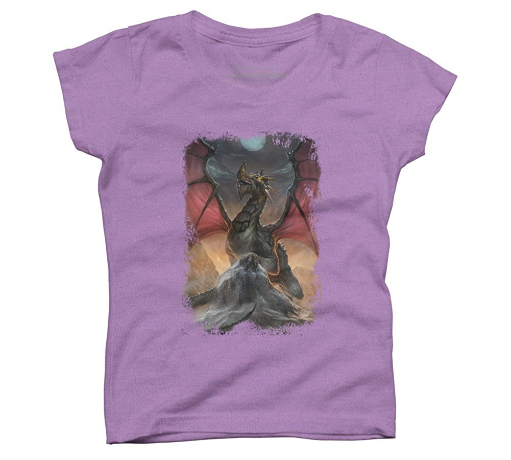 Dragon Girls Youth Graphic T Shirt Design By Humans
