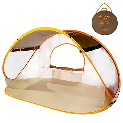Tente de Plage anti Uv Bébé Enfant et Adulte - Pliable Abri de Plage - XL Pop Up Tente