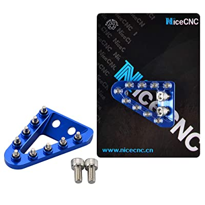 NICECNC Blue Rear Brake Pedal Step Plate Tip for 150 XCW 2020-2020,450 EXCF SIX DAYS 500 EXCF 2020,300 XCW Six Days 2020: Automotive