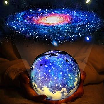 Amazon.com: Proyector de estrellas de luz nocturna, juguete ...