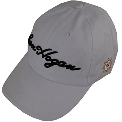 Amazon.com  Ben Hogan Hat (White USA Golf Cap) BH Unstructured 100 ... ded00d74717