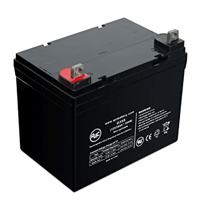 Batterie Pride Mobility Colt Twin 12V 35Ah Fauteuil roulant - Ce produit est un article de remplacement de la marque AJC®