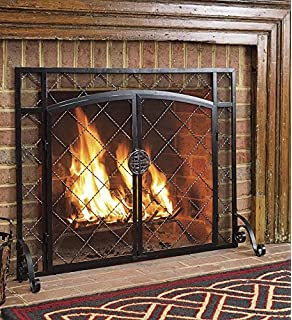 Amazoncom Sterling Metal Fireplace Screens 51 10160 Sterling