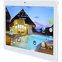 10 Pulgadas Tablet PC Android 6.0 4 GB de RAM 64GB ROM Octa Core 8 núcleos de Doble Cámaras 5.0MP 1280 * 800 IPS (White)