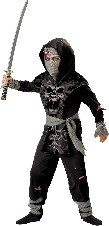 Amazon.com: Dark Zombie Ninja Costume - Large: Clothing
