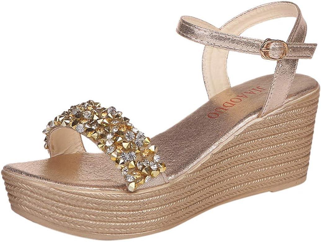 Kinlene Sandalias Zapatillas Zapatos de tacón Las señoras de ...