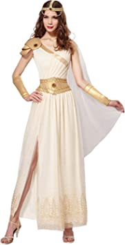 Chaks Disfraz de Mujer Diosa Griega Aurora (M) Vestido Antiguo ...