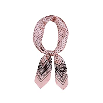 Square Scarf ROSE GOLD PINK Head /& Neck Unisex Headband Tie For Men