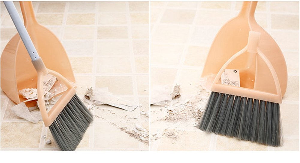Xifan Mini Broom With Dustpan For Kids,Little Housekeeping Helper Set (Light Blue) by Xifan (Image #5)