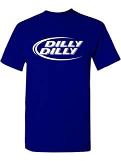 4bf5dd98c Amazon.com  Bud Light Official Dilly Dilly T-Shirt  Clothing