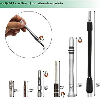 60 en1 Kit de Destornilladores de Precisión Herramientas ...