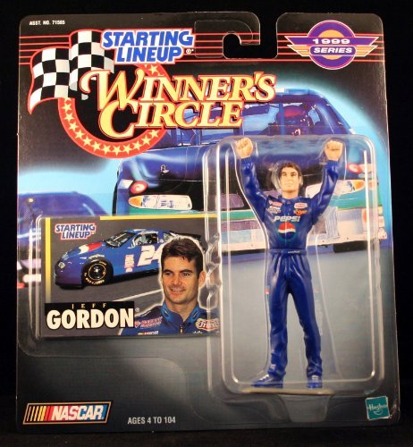 JEFF GORDON / PEPSI 1999 Winner's Circle Starting Line NASCAR Series Action Figure & Exclusive Collector Trading Card