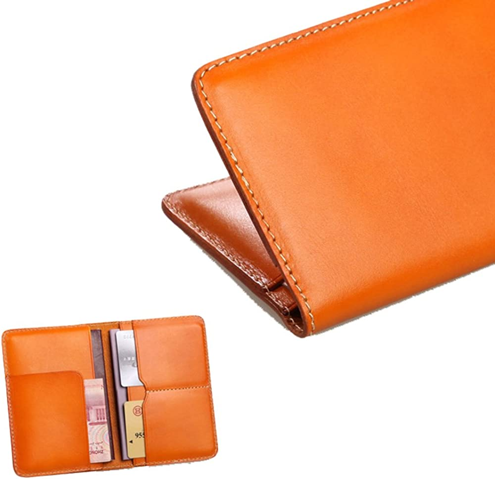 Phonyeer Genuine Leather Travel Passport Cover Case and Loyalty Card Holder Wallet
