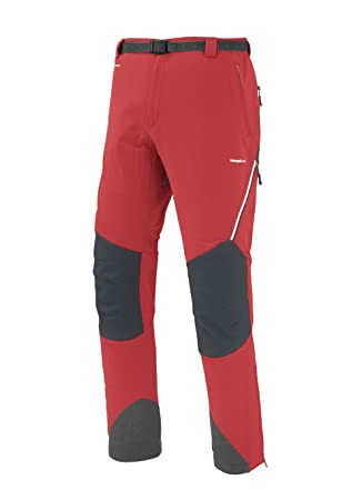 Trango Herren Hose Pants LARGO PROTE FI, Rot/Grau, XL, 8433849275322