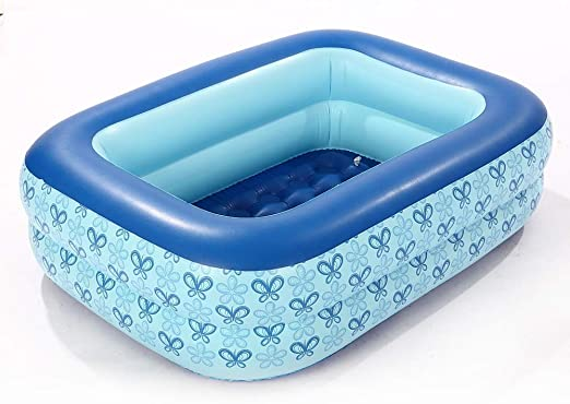 MJMYDT LYX® Piscina Hinchable, Piscina De Paddle Azul.: Amazon.es ...