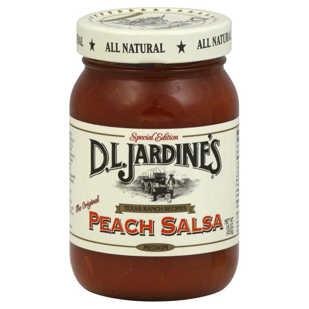 Salsa-Peach/Med -Pack of 6 by Jardine's (Image #1)