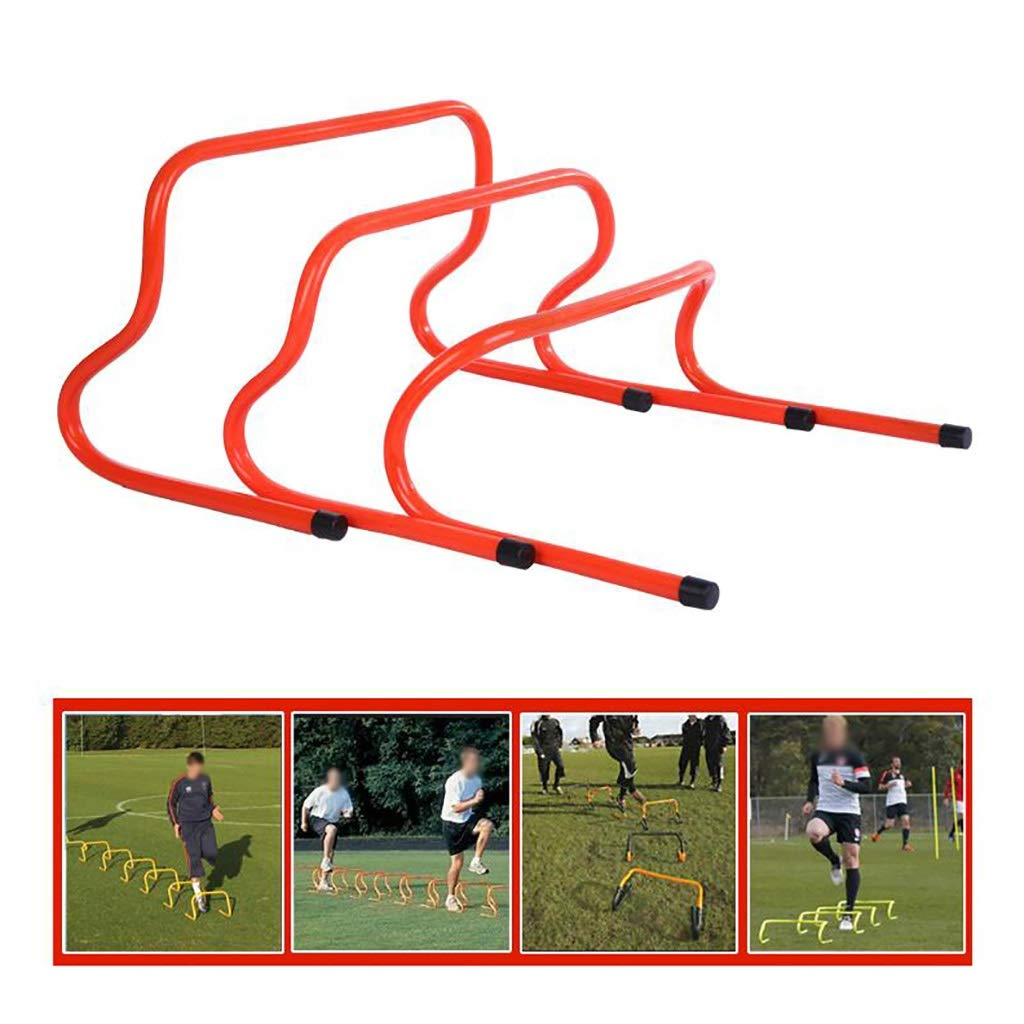 F/útbol Rugby Hockey Deportes Agilidad de entrenamiento y movimiento velocidad de entrenamiento para vallas