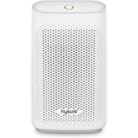 Hysure Dehumidifier 700ml Compact and Portable for Damp Air, Mold, Moisture in Home, Kitchen, Bedroom, Office, White